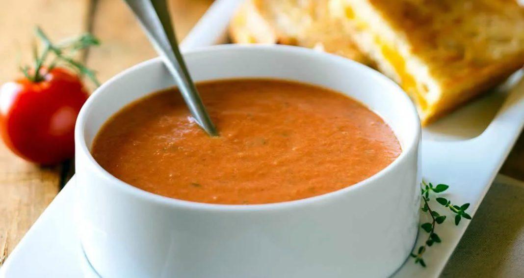 Receita de Sopa Creme de Tomate