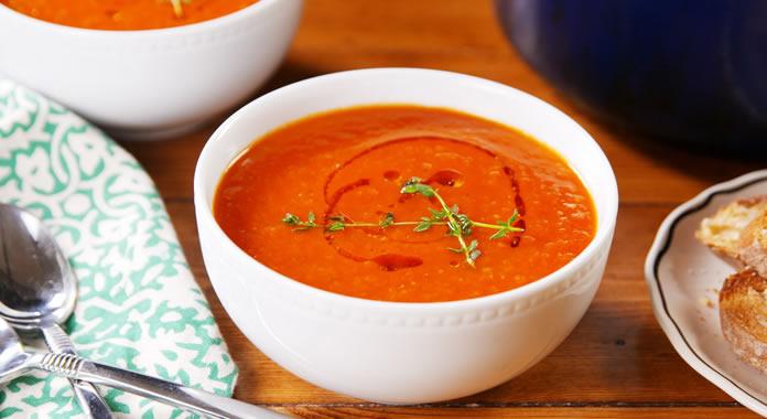 Sopa Creme de Tomate
